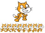 Scratch Cat Sprite