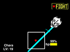True bad time sim (PLAY AS SANS) on Scratch