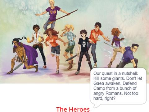 mit scratch Heroes of Olympus in a nutshell (No nutshell image) by hulkandironman