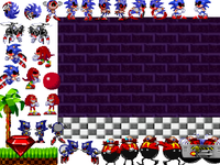 Sonic exe scene creator on scratch
