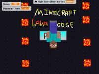 Minecraft Lava Dodge Keyboard Edition On Scratch