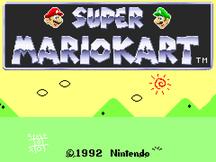 Super Mario Kart v0.3