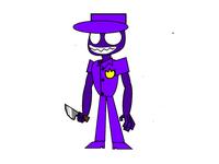 Purple guy fnaf vector sprite on scratch
