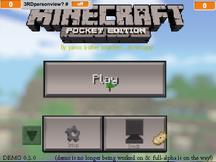 Minecraftpe 0.3.1 DEMO