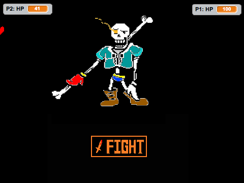 Undertale Sans Simulator 2 Player Underfell  Followmeseanighmare on