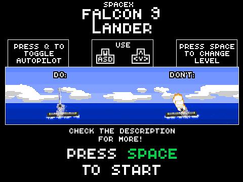 spacex falcon 9 lander now with autopilot remix