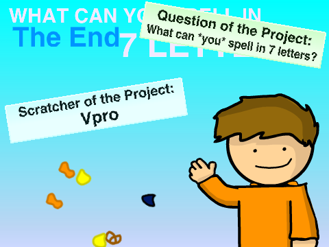 What Can You Spell In Letters On Scratch - Can you spell