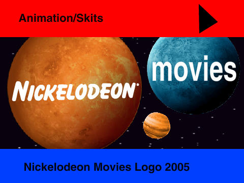 nickelodeon movies logo 2005 on scratch