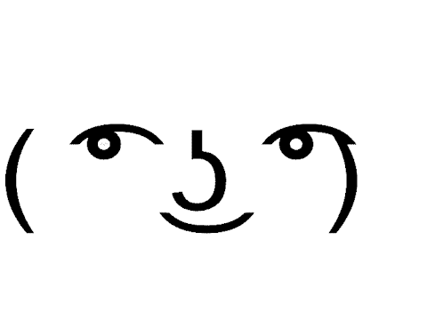 Lenny face XD on Scratch