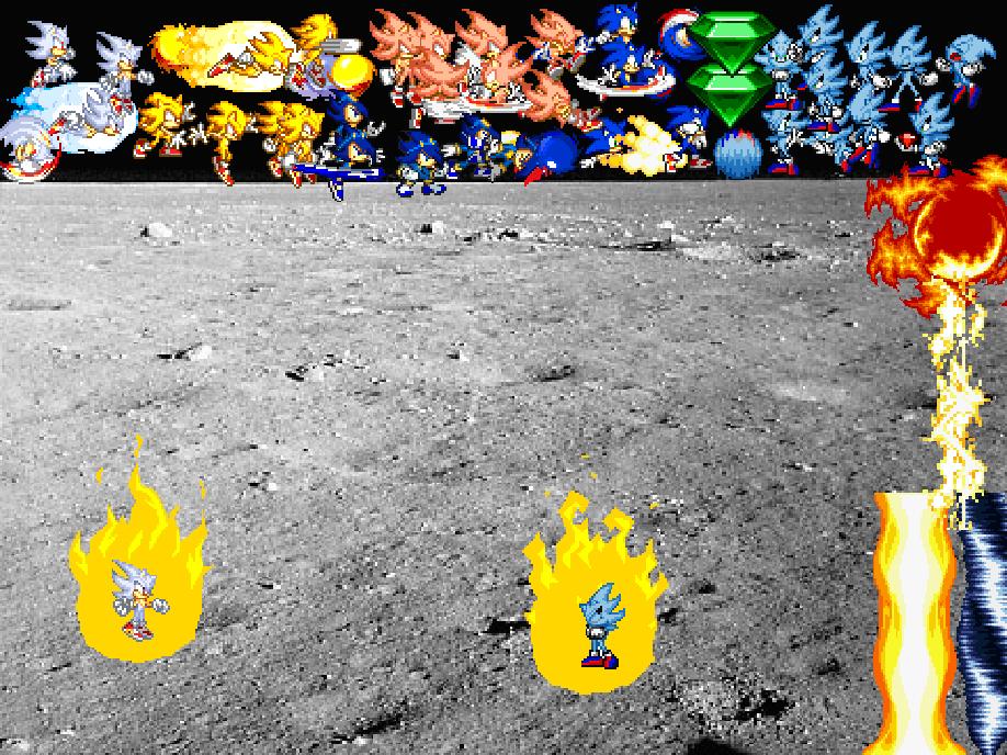 True Hyper Sonic Scene Creator