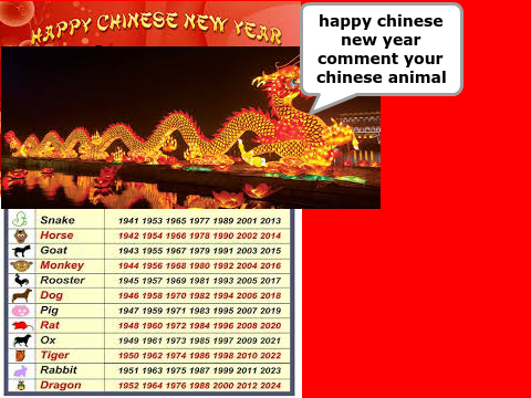 happy chinese new year - Chinese New Year 1962