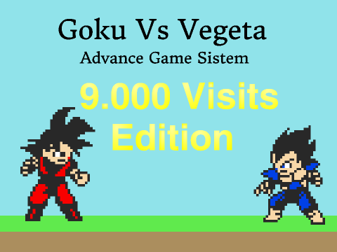 Goku vs Vegeta DBZ Fighting Game Engine V 8.0