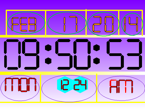 how to make a digital clock from scratch