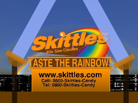 Skittles Commercial ''Taste the Rainbow'' on Scratch