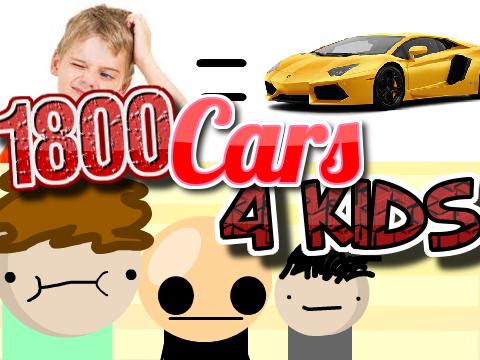 1800 cars 4 kids