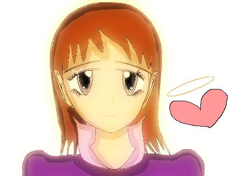 Anime Girl Lineart : Animegirl lineart vector on scratch