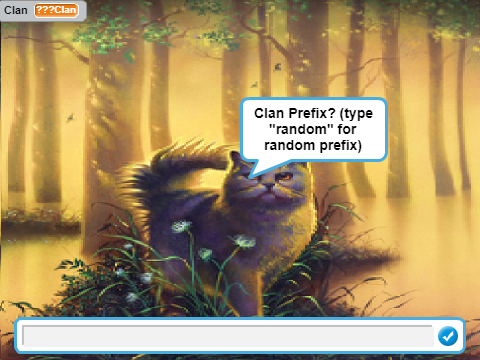 Warrior Cat Games On Scratch Lead The Clan Clan Life