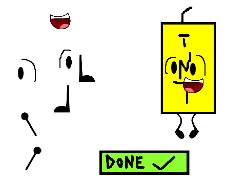 Bfdi Character Maker Related Keywords & Suggestions - Bfdi Character