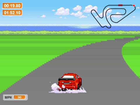 Scratch race messhof games