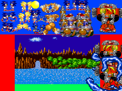 Sonic Vs Sonic Exe Scene Creator