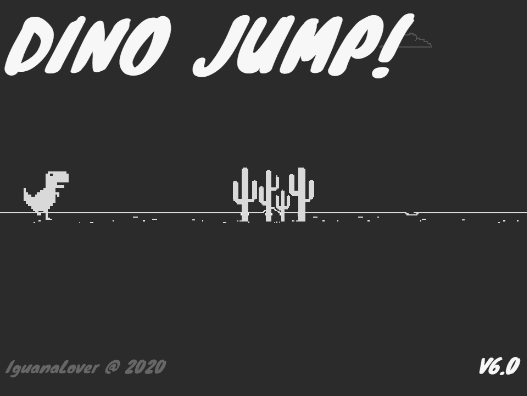 Dino Jump! on Scratch