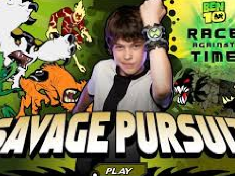 BEN 10 SAVAGE PURSUİT no Scratch