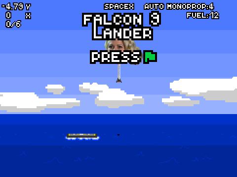 spacex falcon 9 lander remix vasleva by markrtk