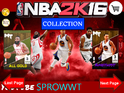 NBA 2K16 Pack Opening Simulator! on Scratch
