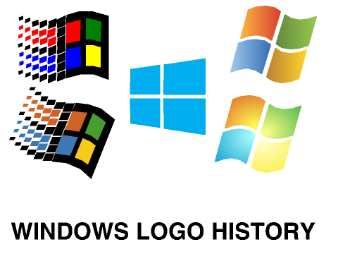 Windows Logo History FIX WITH BETA RELETED AND By JohnTheKid574