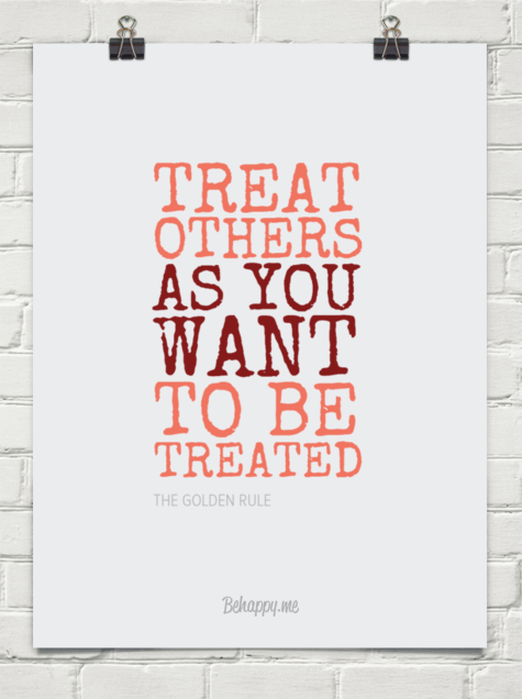Tag Treat Others As You Want To Be Treated Quote Waldonprotese De