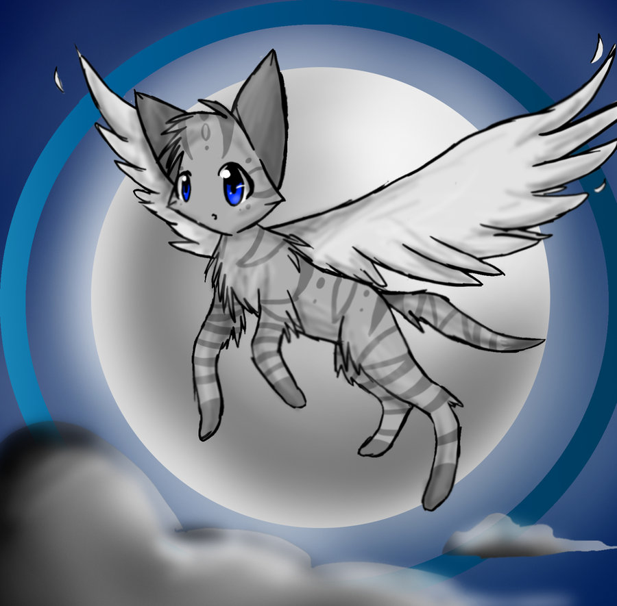 Anime Cat With Wings mintyheart5 on scratch