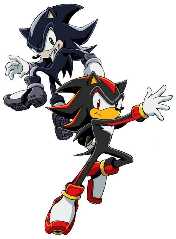 Sonic vs mephiles