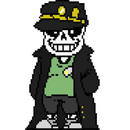 Jotaro Sans On Scratch